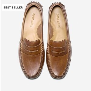 Cole Haan🍂🍁Grant Canoe penny loafers men 8